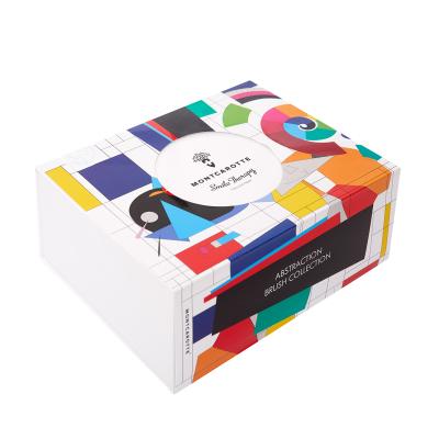 """Подарочный Набор """"Зубные Кисти Абстракционистов"""" Montcarotte Abstraction Brush Collection"""