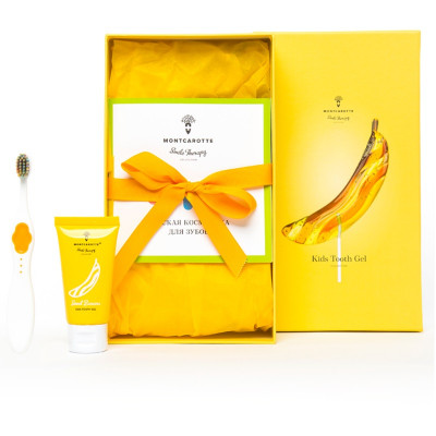 """Детский Подарочный Набор """"Сладкий Банан"""" Montcarotte Sweet Banana Set"""