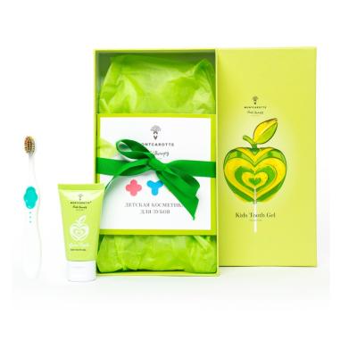 """Детский Подарочный Набор """"Зелёное Яблоко"""" Montcarotte Green Apple Kids Set"""