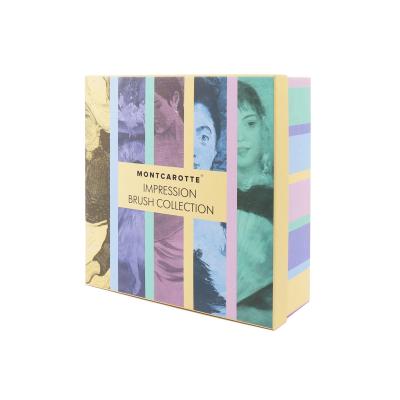 """Подарочный Набор """"Зубные Кисти Импрессионистов"""" Montcarotte Impression Brush Collection"""