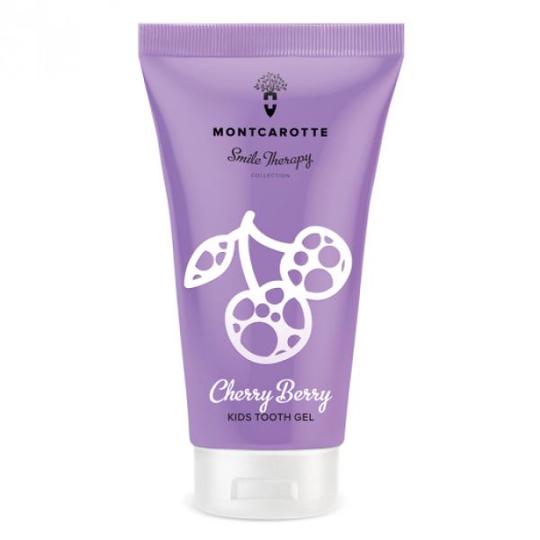 Детская Зубная Паста «Ягодка Вишня» Montcarotte Smile Therapy Cherry Berry 30 мл