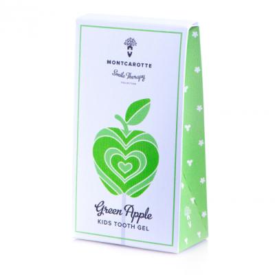 Детская Зубная Паста «Зелёное Яблоко» Montcarotte Smile Therapy Green Apple 30 мл