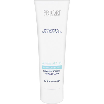 Восстанавливающий Скраб для Лица и Тела Priori Aha Invigorating Face and Body Scrub 200 мл