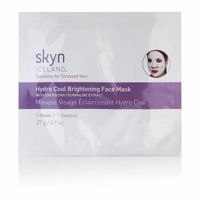 Патчевая Маска для Лица Skyn Iceland Hydro Cool Brightening Face Mask 1x27 г