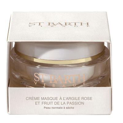 Крем-маска с Розовой Глиной и Экстрактом Маракуйи St Barth Cream Mask With Pink Clay and Passion Fruit 50 г