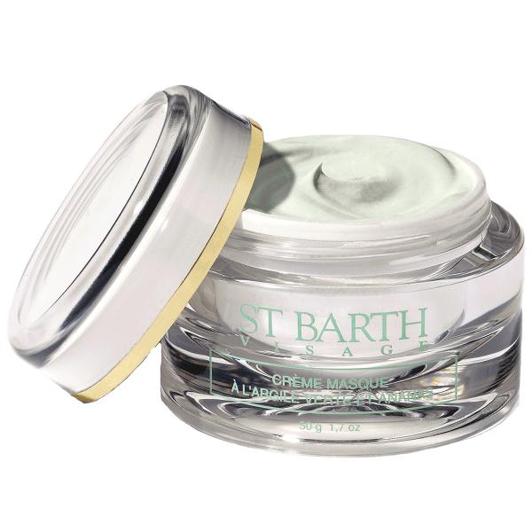 Крем-маска с Зеленой Глиной и Экстрактом Ананаса St Barth Cream Mask With Green Clay and Pineapple 50 г