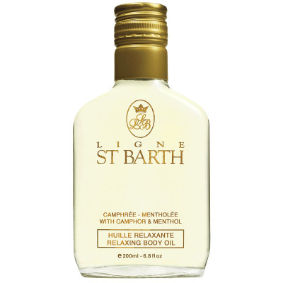 Масло с Ментолом St Barth Relaxing Body Oil 200 мл