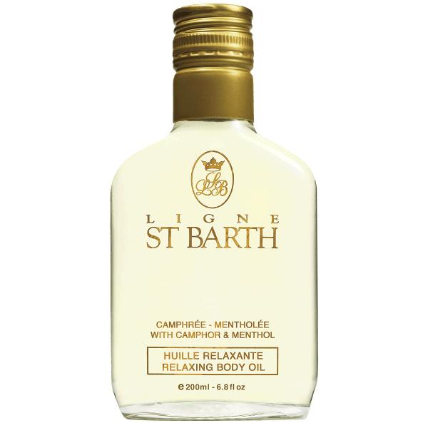 Масло с Ментолом St Barth Relaxing Body Oil 200 мл