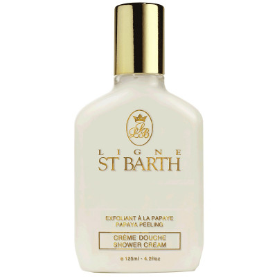 Крем-Пилинг для Душа с Экстрактом Папайи St Barth Papaya Peeling Shower Cream 125 мл