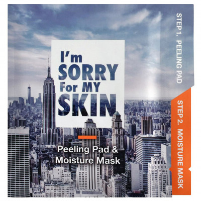 Маска для Лица Ultru I'm Sorry For My SkinPeeling Pad & Moisture Mask