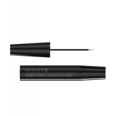 Супер-Стойкая Подводка для Глаз Wunder2 SUPER-STAY LIQUID EYELINER Long-Lasting & Waterproof Liquid Eyeliner Black 3.6 мл