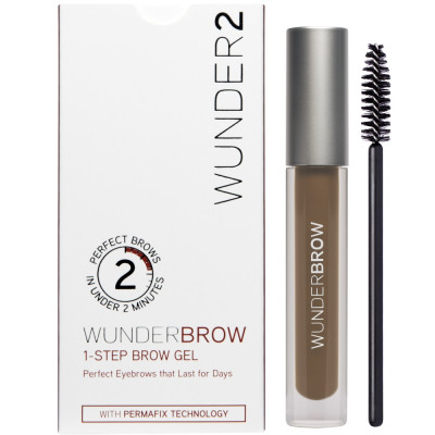 Гель для Бровей Wunder2 WUNDERBROW Eyebrow Gel Brunette 3 г