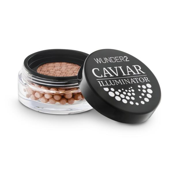 Кремовый Хайлайтер для Лица Wunder2 CAVIAR ILLUMINATOR Cream Highlighter Coral Shimmer 8 г