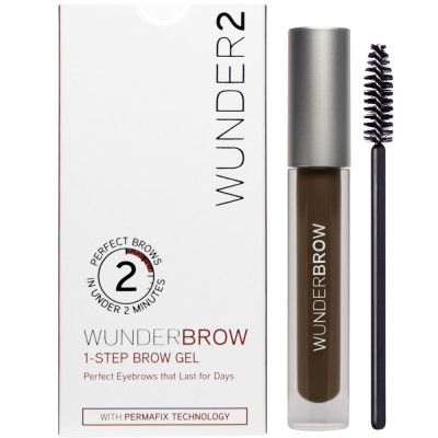Гель для Бровей Wunder2 WUNDERBROW Eyebrow Gel Black / Brown 3 г
