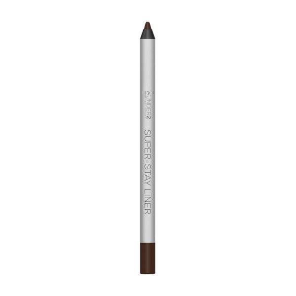 Супер-Стойкий Карандаш для Глаз Wunder2 SUPER-STAY LINER Long-Lasting & Waterproof Colored Eyeliner Essential Brown