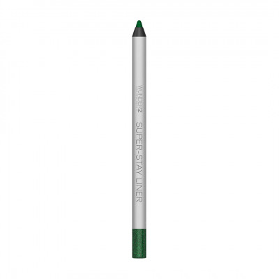 Супер-Стойкий Карандаш для Глаз Wunder2 SUPER-STAY LINER Long-Lasting & Waterproof Colored Eyeliner Glitter Esmerald