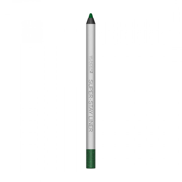 Супер-Стойкий Карандаш для Глаз Wunder2 SUPER-STAY LINER Long-Lasting & Waterproof Colored Eyeliner Glitter Esmerald