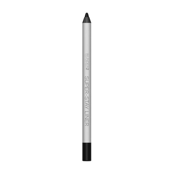 Супер-Стойкий Карандаш для Глаз Wunder2 SUPER-STAY LINER Long-Lasting & Waterproof Colored Eyeliner Essential Black