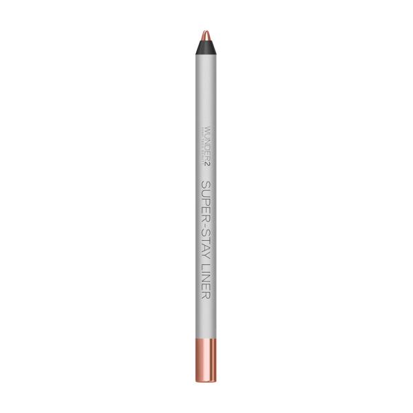 Супер-Стойкий Карандаш для Глаз Wunder2 SUPER-STAY LINER Long-Lasting & Waterproof Colored Eyeliner Metallic Rose Gold