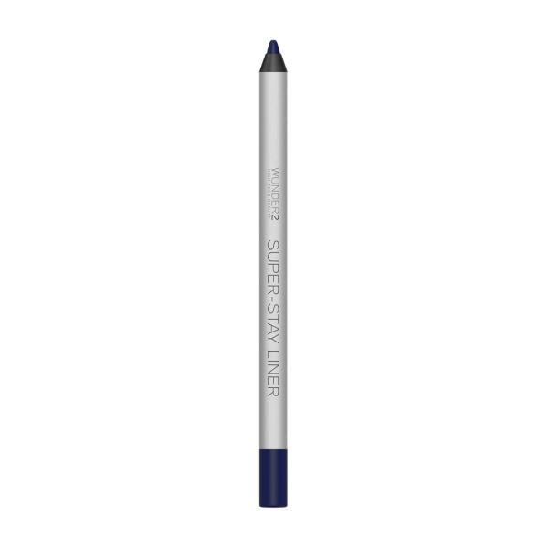 Супер-Стойкий Карандаш для Глаз Wunder2 SUPER-STAY LINER Long-Lasting & Waterproof Colored Eyeliner Essential Navy