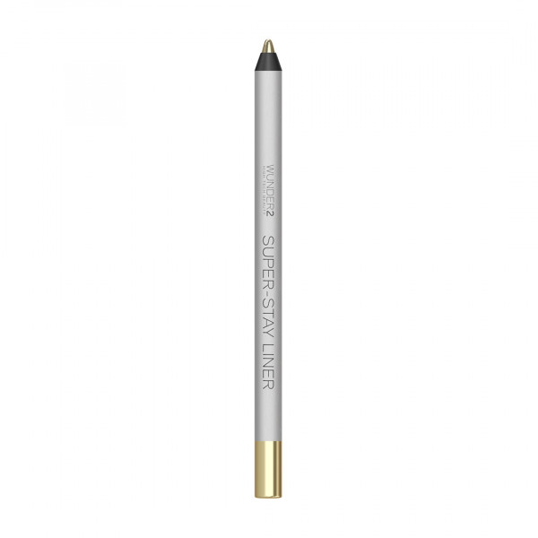 Супер-Стойкий Карандаш для Глаз Wunder2 SUPER-STAY LINER Long-Lasting & Waterproof Colored Eyeliner Metallic White Gold