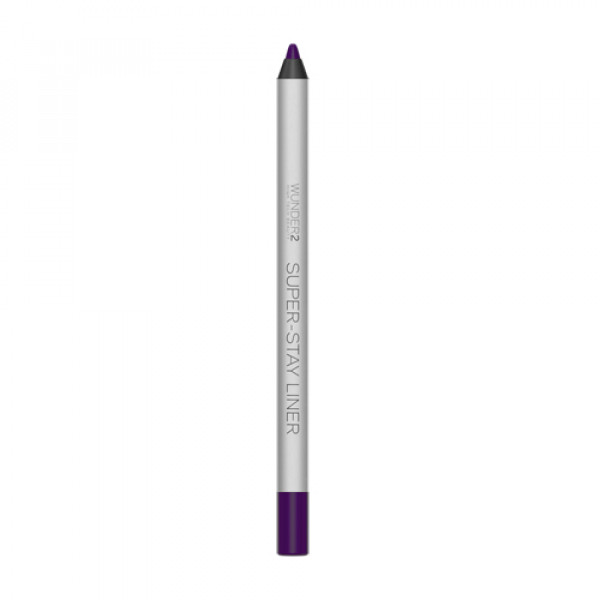 Супер-Стойкий Карандаш для Глаз Wunder2 SUPER-STAY LINER Long-Lasting & Waterproof Colored Eyeliner Essential Ultra Violet