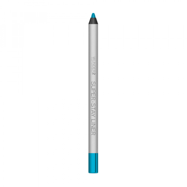 Супер-Стойкий Карандаш для Глаз Wunder2 SUPER-STAY LINER Long-Lasting & Waterproof Colored Eyeliner Metallic Turquoise
