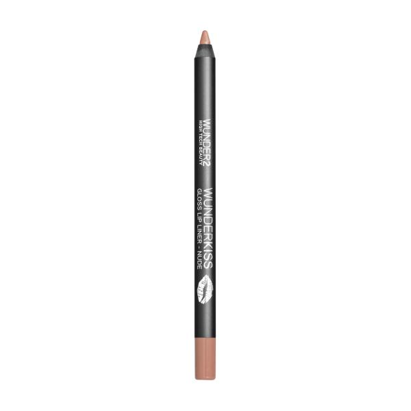 Карандаш для Губ Wunder2 WUNDERKISS GLOSS LIP LINER Long-Lasting Lip Contour Pencil Nude