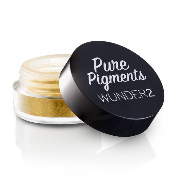 Пигменты для Глаз Wunder2 PURE PIGMENTS Ultra-Fine Loose Color Powders Sunkissed Gold