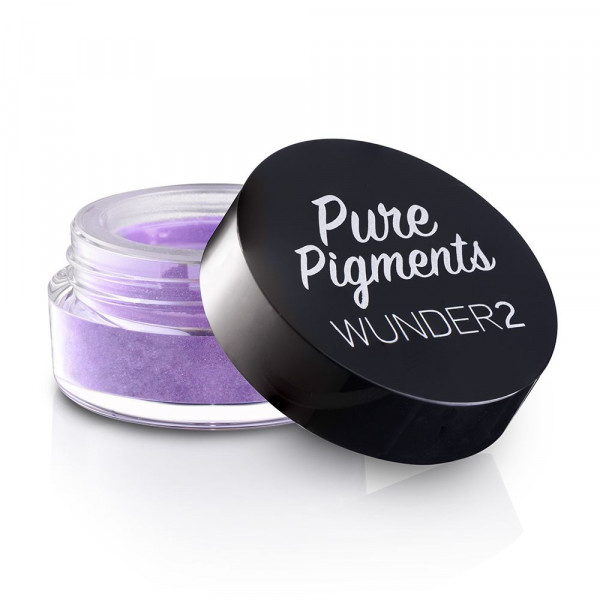 Пигменты для Глаз Wunder2 PURE PIGMENTS Ultra-Fine Loose Color Powders Lavender Field