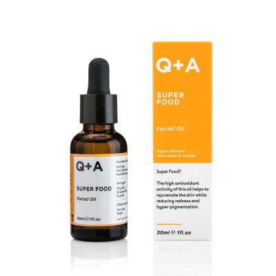 Мультивитаминное Масло для Лица Q+A Super Food Facial Oil 30 мл