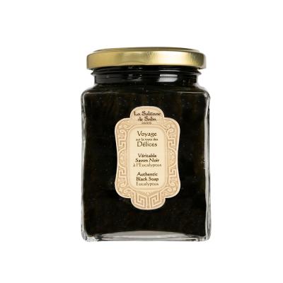 Чёрное Мыло с Эвкалиптом La Sultane De Saba Authentic Eucalyptus Black Soap 300 мл