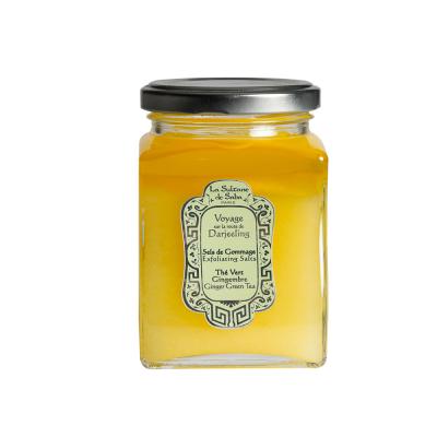 Солевой Скраб для Тела Зелёный Чай с Имбирём La Sultane De Saba Exfoliating Salt Ginger Green Tea 300 мл