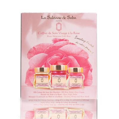 Набор для Лица с Розой La Sultane De Saba Rose Face Set