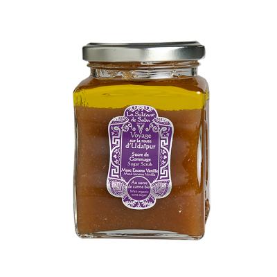 Сахарный Скраб для Тела Мускус, Ладан, Ваниль La Sultane De Saba Sugar Scrub Musk Incense Vanilla 300 мл